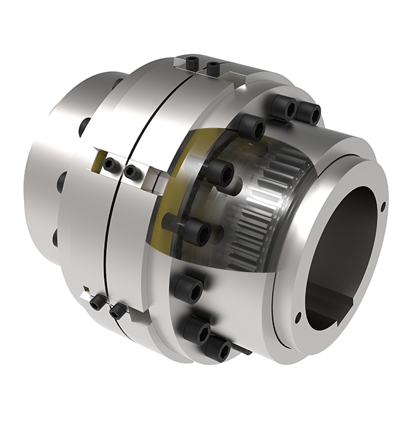 Gear coupling spacers